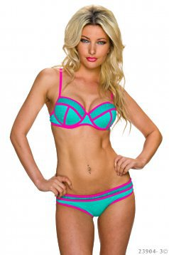Costum De Baie Body Shape Green