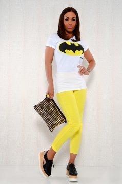 Pantaloni MissQ Pleasant Yellow