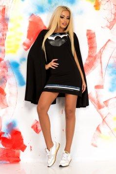 Rochie Ocassion Futuristic Black