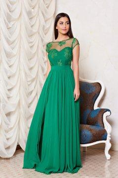 Rochie Fame Illusion Green