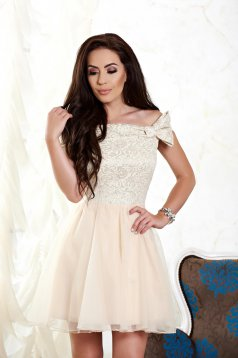 Rochie Fofy Party Fame Cream