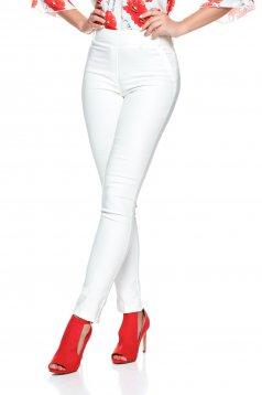 Pantaloni Fofy Fine Look White