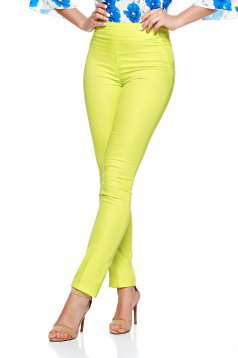 Pantaloni Fofy Qualify Yellow