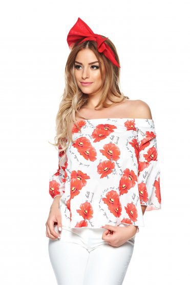 Bluza Fofy Street Chic Red