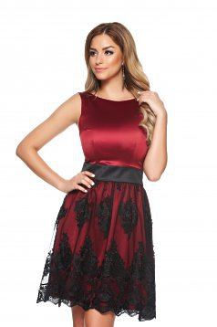 Rochie LaDonna Perfect Looks Burgundy