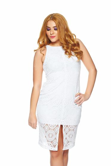 Rochie StarShinerS Sugar Babe Affection White