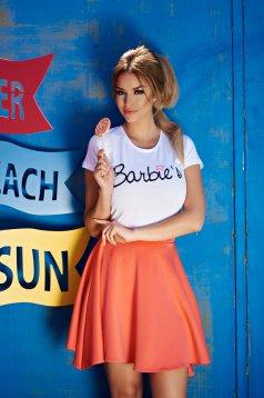 Tricou StarShinerS Brodat Sugar Babe Sunway White