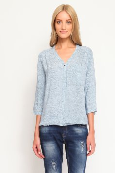 Camasa Top Secret S021724 Blue