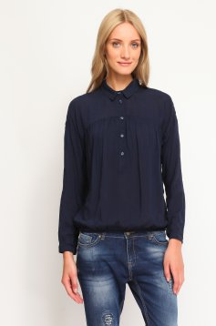 Camasa Top Secret S021725 DarkBlue