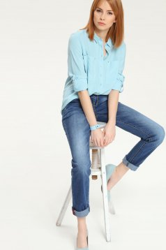 Camasa Top Secret S021743 LightBlue