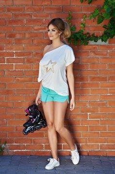 Pantaloni Scurti StarShinerS Sport Up Harmony Mint