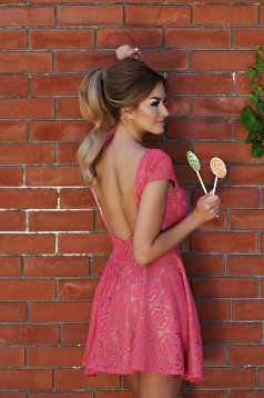 Rochie StarShinerS Sugar Babe Style Coral