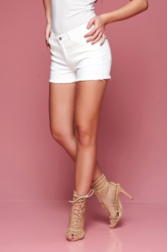 Pantaloni Scurti Top Secret Timeless White