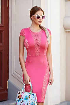 Rochie StarShinerS Magic Attraction Coral