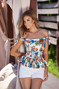 Bluza StarShinerS Chic Summer White