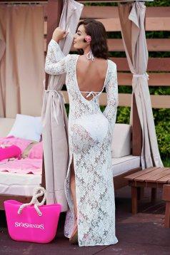 Rochie StarShinerS Sensual Summer White