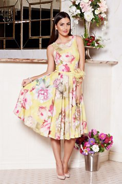 Rochie LaDonna Summer Princess Yellow