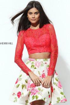 Rochie Sherri Hill 50563 Coral