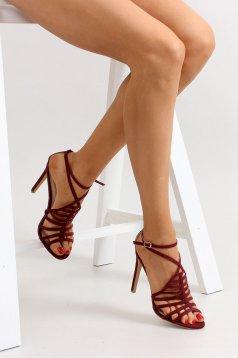 Sandale Special Ocassion Burgundy