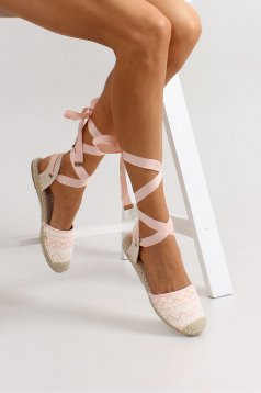 Espadrile Spanish Dream Peach