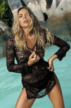 Rochie De Plaja Hot Summer Black
