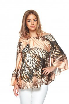 Bluza Daniella Cristea Day Style Brown