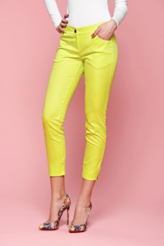 Pantaloni PrettyGirl Come On Yellow
