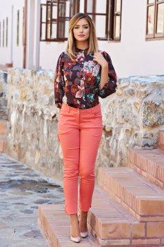 Pantaloni PrettyGirl Come On Coral