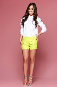 Pantaloni Scurti PrettyGirl Summer Feeling Yellow