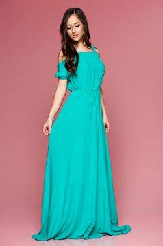 Rochie PrettyGirl Maxi Style Green
