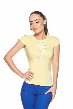 Camasa Fofy Simple Knot Yellow