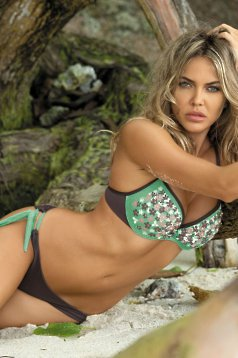 Costum De Baie Summer Vibe Green