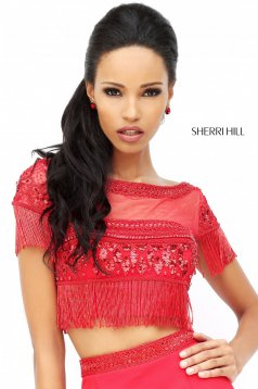 Set Sherri Hill 50539 Red