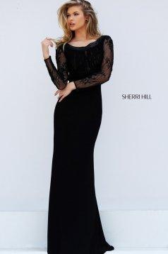 Rochie Sherri Hill 50511 Black