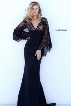 Rochie Sherri Hill 50610 Black