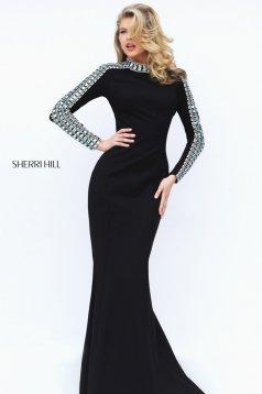 Rochie Sherri Hill 50611 Black