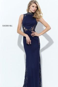 Rochie Sherri Hill 50652 DarkBlue
