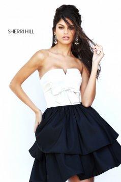 Rochie Sherri Hill 50673 Black