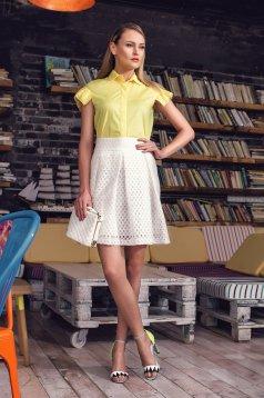 Camasa PrettyGirl Business Day Yellow