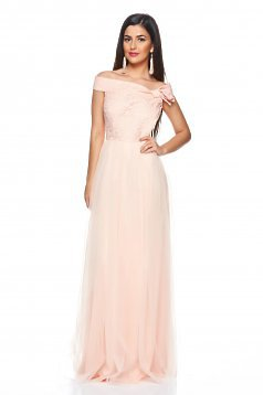 Rochie Fofy Luxury Moment Peach