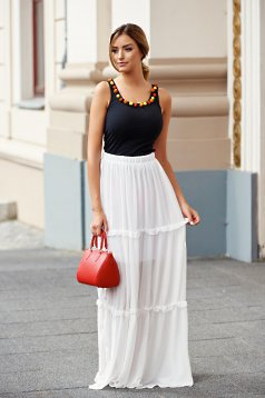 Fusta PrettyGirl Summer White
