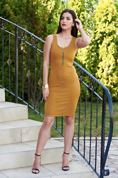 Rochie StarShinerS Glowing Silhouette Gold