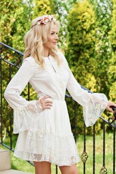 Rochie PrettyGirl Summer Dream White
