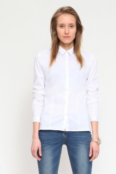 Camasa Top Secret SKL1697 White
