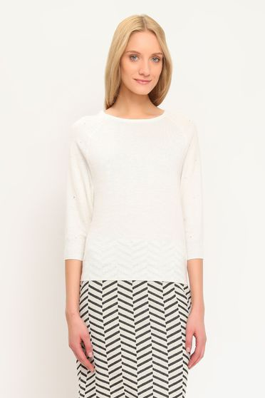 Pulover Top Secret S023283 White