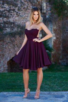 Rochie Ana Radu Perfect Shadows Purple