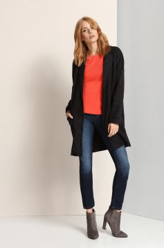 Palton Top Secret S023482 Black