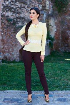 Pantaloni PrettyGirl Autumn Concept Brown