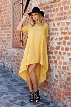 Rochie PrettyGirl Fashion Tendency Yellow
