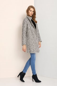 Palton Top Secret S023539 Grey